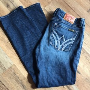 LUCKY BRAND Zen Lola Straight stretch jeans